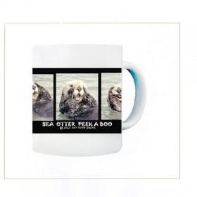 Sea Otter Peekaboo Mug